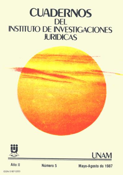 Cuadernos del Instituto de Investigaciones Jurídicas. Los grupos de presión