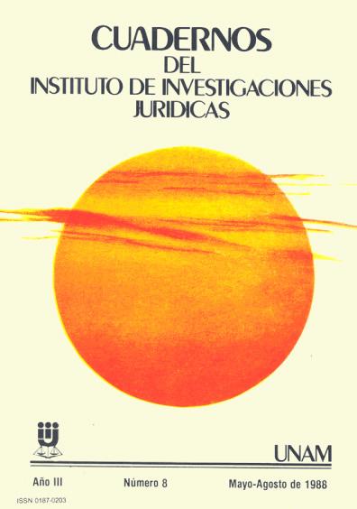Cuadernos del Instituto de Investigaciones Jurídicas. Sistemas electorales