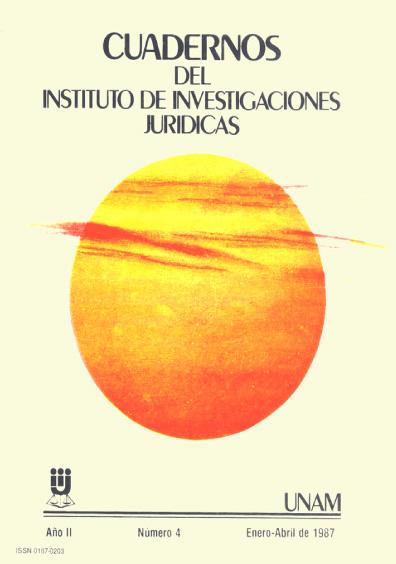Cuadernos del Instituto de Investigaciones Jurídicas. Literatura histórico-jurídica mexicana
