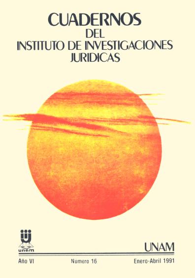 Cuadernos del Instituto de Investigaciones Jurídicas. Régimen jurídico de la energía en México
