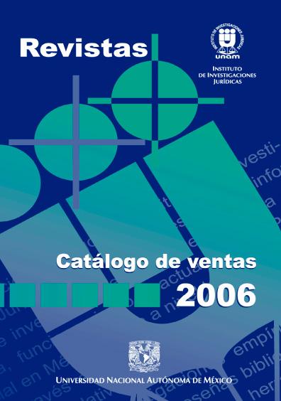 Revistas. Catálogo de ventas, 2006