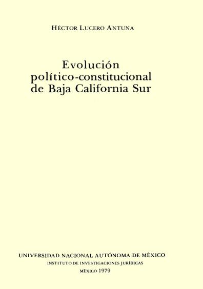 Evolución político-constitucional de Baja California Sur