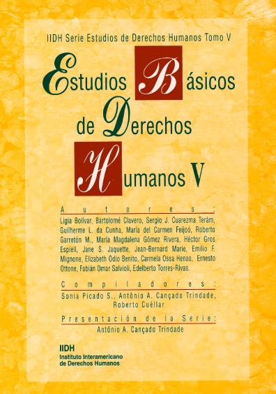 Estudios básicos de derechos humanos, t. V