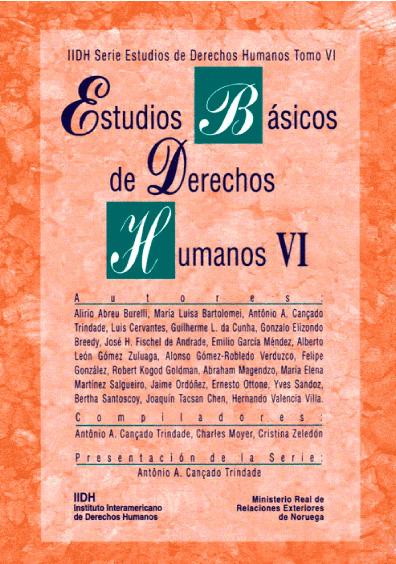 Estudios básicos de derechos humanos, t. VI