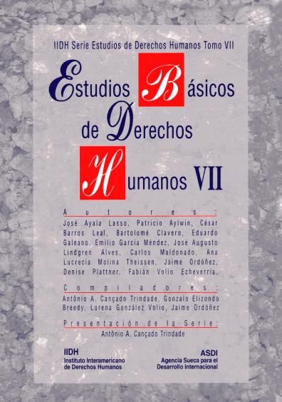 Estudios básicos de derechos humanos, t. VII