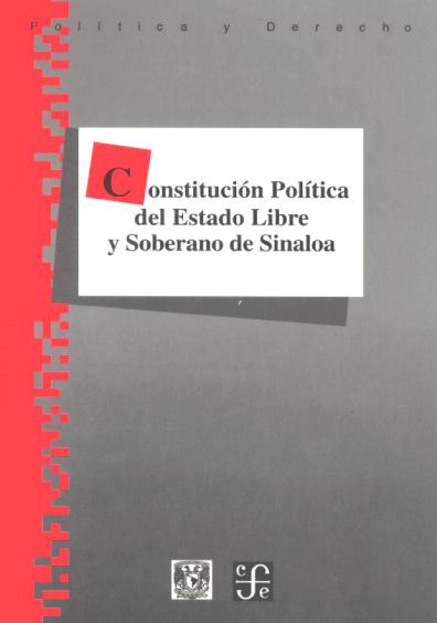 Constitución Política del Estado Libre y Soberano de Sinaloa