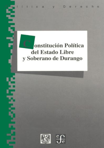 Constitución Política del Estado Libre y Soberano de Durango