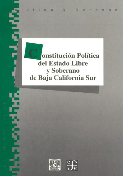 Constitución Política del Estado Libre y Soberano de Baja California Sur