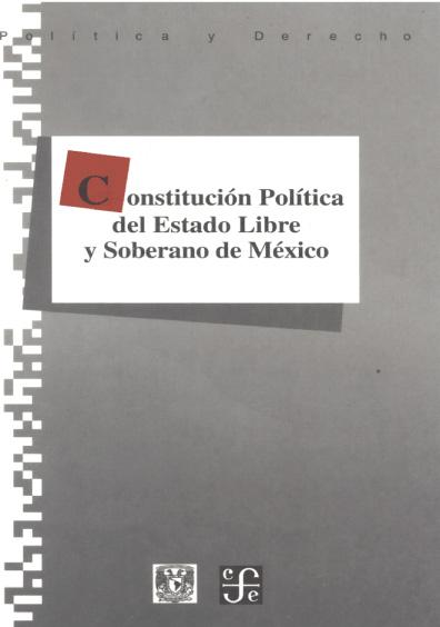Constitución Política del Estado Libre y Soberano de México