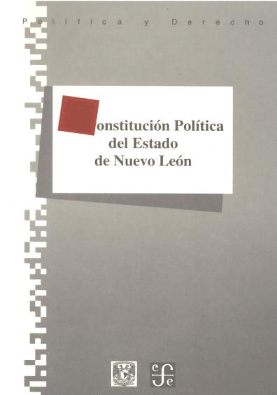 Constitución Política del Estado de Nuevo León