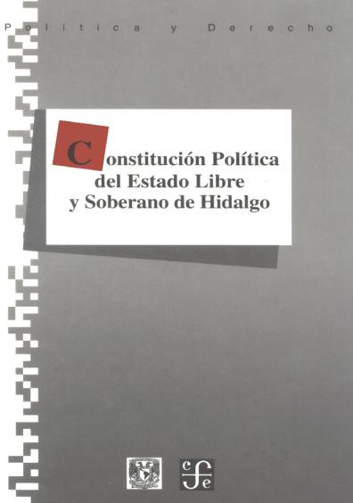 Constitución Política del Estado Libre y soberano de Hidalgo