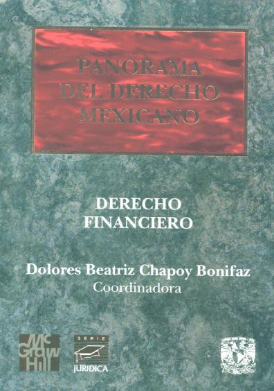 Panorama del derecho mexicano. Derecho financiero