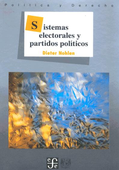 Sistemas electorales y partidos políticos