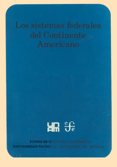 Los sistemas federales del continente americano