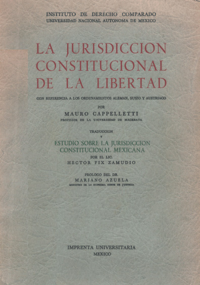 La jurisdicción constitucional de la libertad