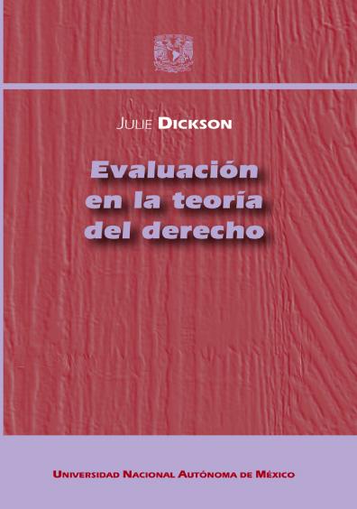 Evaluación en la teoría del derecho