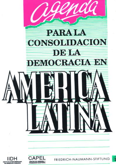 Agenda para la consolidación de la democracia en América Latina