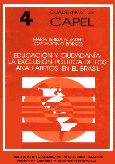 Educación y ciudadanía: la exclusión política de los analfabetos en el Brasil