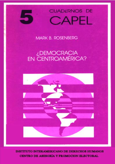 ¿Democracia en Centroamérica?
