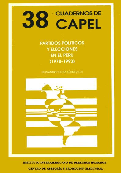 Partidos políticos y elecciones en el Perú (1978-1993)