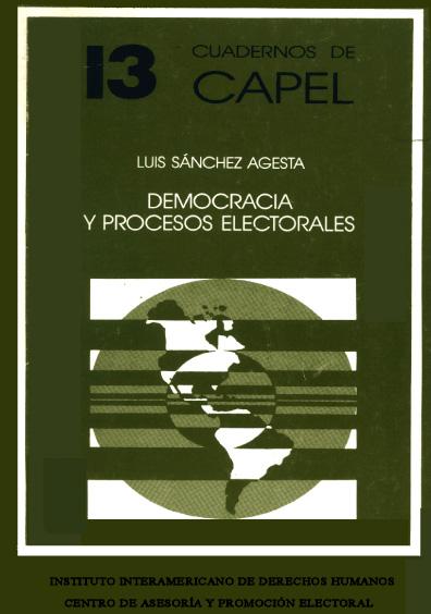 Democracia y procesos electorales