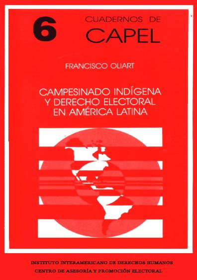 Campesinado indígena y derecho electoral en América latina