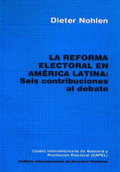 La reforma electoral en América Latina