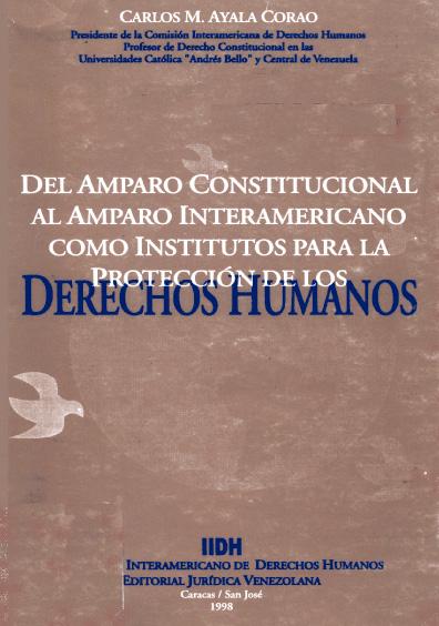 Del amparo constitucional al amparo interamericano como institutos para la protección de los derechos humanos