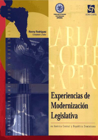 Experiencias de modernización legislativa en América Central y República Dominicana