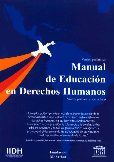 Manual de educación en derechos humanos. Niveles primario y secundario