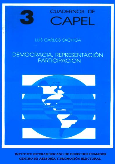 Democracia, representación y participación