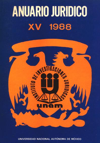Anuario Jurídico XV