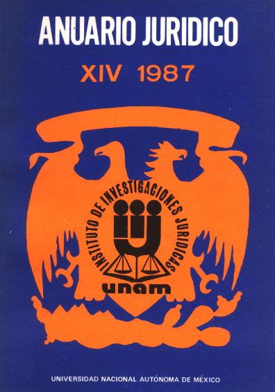 Anuario Jurídico XIV