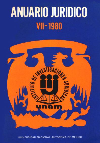 Anuario Jurídico VII