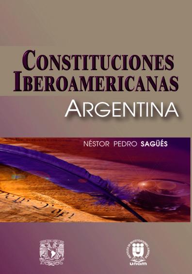 Constituciones iberoamericanas. Argentina