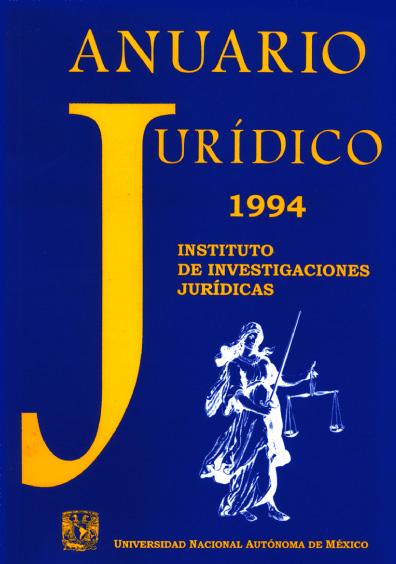 Anuario Jurídico 1994