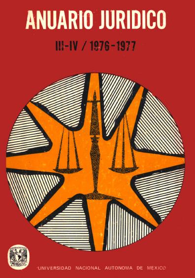 Anuario Jurídico III-IV/1976-1977