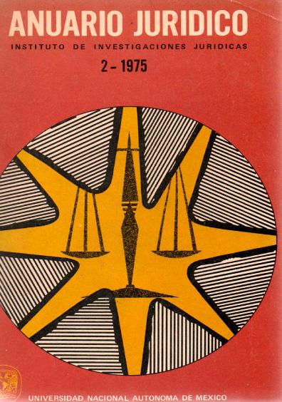 Anuario Jurídico II, 1975