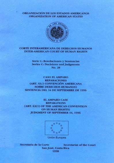 Caso El amparo. Reparaciones. Sentencia del 14 de septiembre de 1996