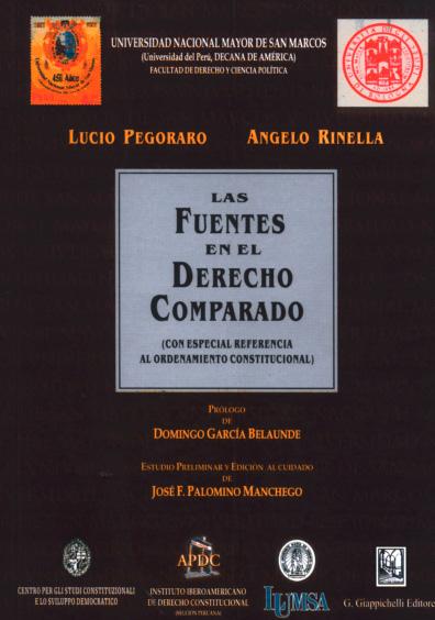 Las fuentes del derecho comparado (con especial referencia al ordenamiento constitucional)
