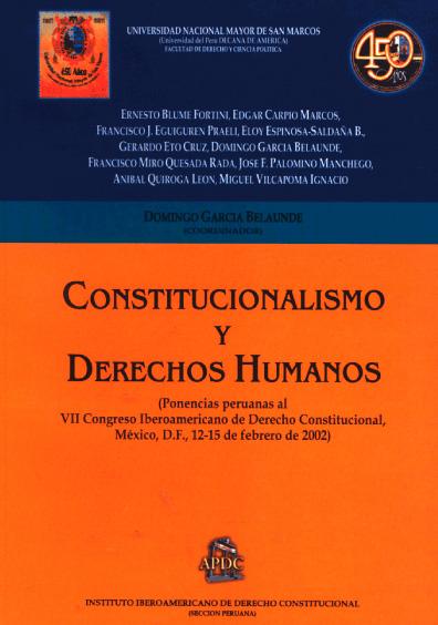 Constitucionalismo y derechos humanos