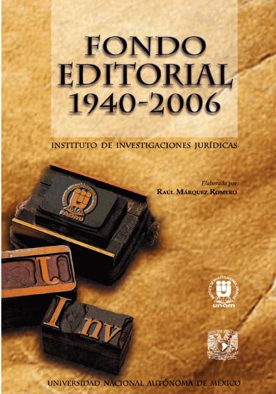 Fondo editorial 1940-2006