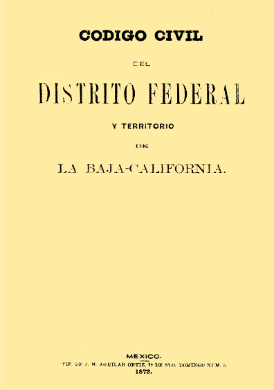 Exposición de motivos del Código Civil del Distrito Federal y Territorio de la Baja California