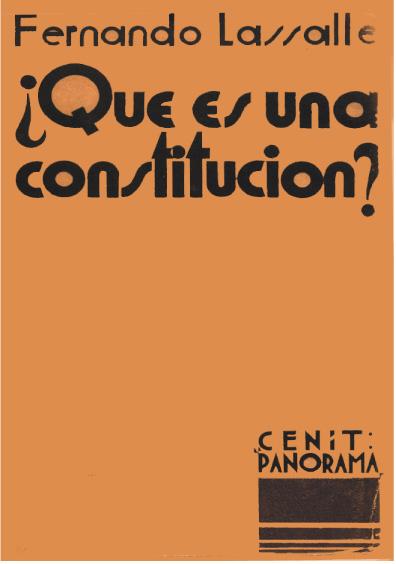 ¿Qué es una Constitución?