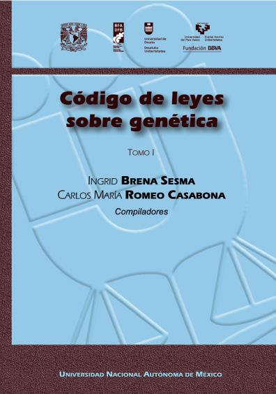 Código de leyes sobre genética, t. I