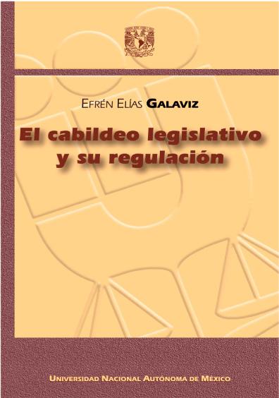 El cabildeo legislativo y su regulación