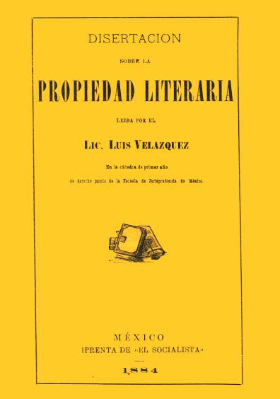 Disertación sobre la propiedad literaria