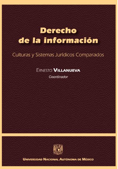 Derecho de la información. Culturas y Sistemas Jurídicos Comparados