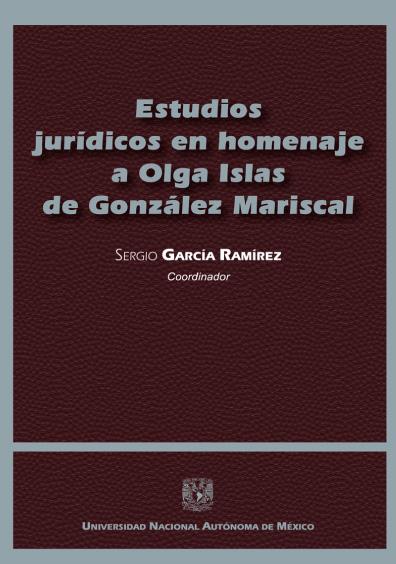 Estudios jurídicos en homenaje a Olga Islas de González Mariscal, tomo II