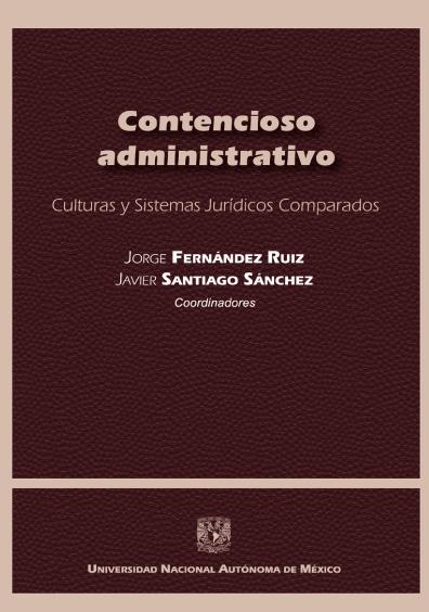 Contencioso administrativo. Culturas y Sistemas Jurídicos Comparados